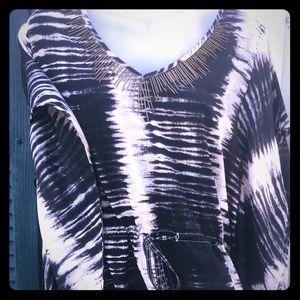 Funky dress top